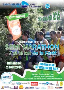 Semi-marathon de RIEZ - 2015